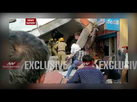 Five-storeyed under-construction building collapses in Bangalore
