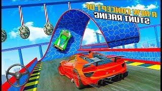 Superheroes GT Racing Car Stunts - Ramp Stunts And Crazy Car Stunts Games - Android GamePlay