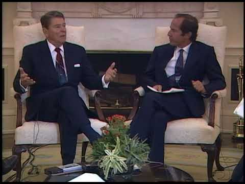 President Reagan's Interview with US News and World Report on September 11, 1987