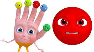 Smiley Finger Family | Learn Emotions For Kids | VeeJee Surprise Eggs Finger Family Series