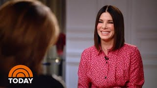 Sandra Bullock Talks 'Bird Box' And Family Time With Her Kids | TODAY