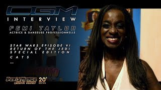 CGM Interviews -  Femi Taylor (Return of the Jedi Special Edition)