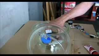 VTC -  PERFUME BOTTLE - VACUUM TEST CHAMBER