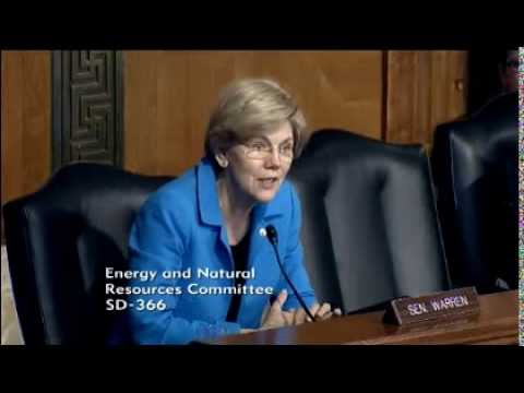 Senator Elizabeth Warren - The American Mineral Security Act of 2015