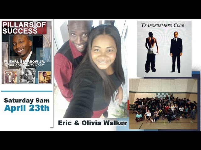 [4-16-2016] CTV Pillars of Success with Studio Guest Eric & Olivia Walker of the Transformers Club
