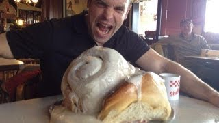 The Bear vs. Stuffy II's 11 Pound Cinnamon Roll