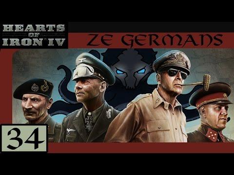 Baku Oil Fields - Let's Play Hearts of Iron IV (HoI4): Ze Germans #34 - Veteran Difficulty