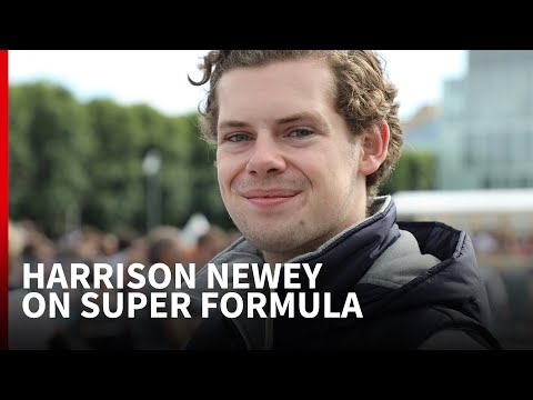 """Harrison Newey Interview: """"The G-force In A Super Formula Car Is Incredible!"""""""