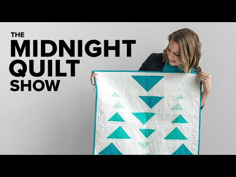 Modern Ombré Wall Hanging | The Midnight Quilt Show Season 10 Finale!