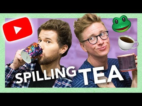 spilling youtube tea!! (ft. Ricky Dillon)