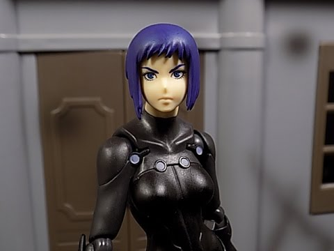 Figma Kusanagi Motoko Ghost In The Shell New Movie Action Figure Review Youtube