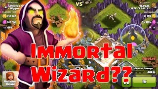 IMMORTAL WIZARD?? The Legend Of Last Wizard - Clash Of Clans
