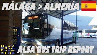ALSA BUS / MALAGA - ALMERIA / SPANISH BUS TRIP REPORT