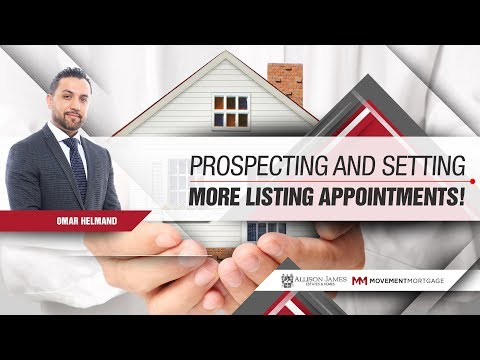 Prospecting & Setting More Listing Appointments - California Broker