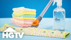 How to Make Reusable Mop Pads - Easy Does It - HGTV