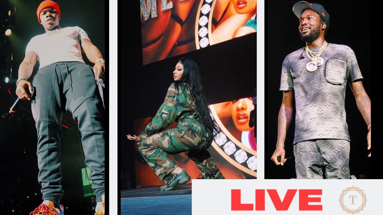 MEGAN THEE STALLION , DA BABY, MEEK MILL - LIVE - ONE STAGE 2020 (NEW)