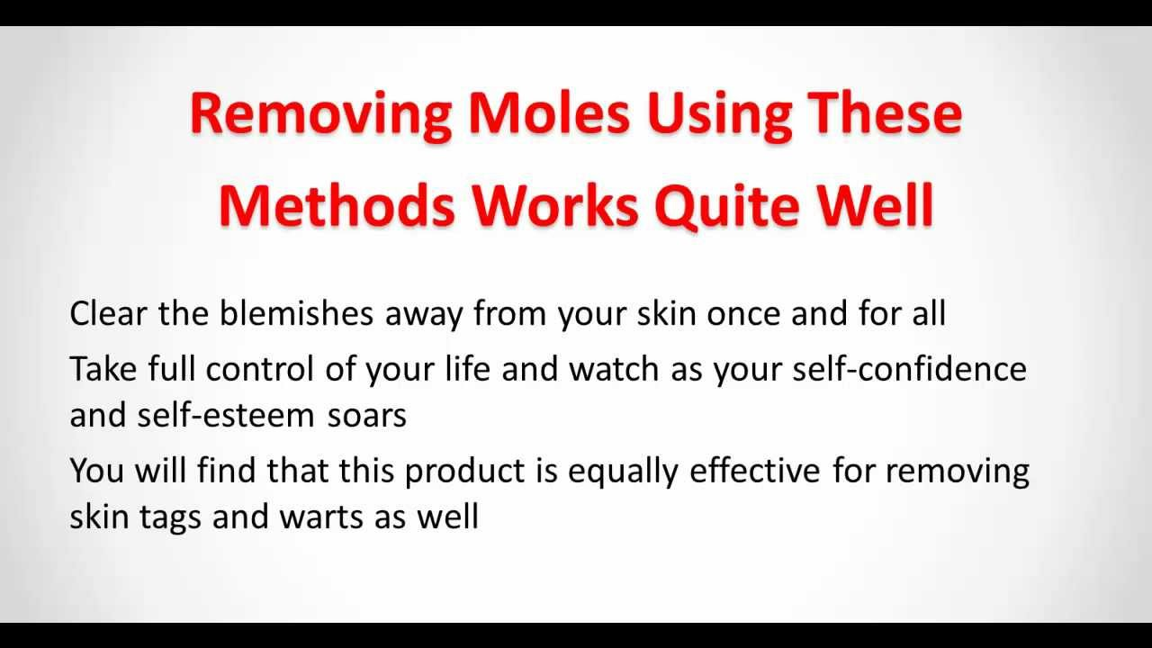 Communication on this topic: How to Remove Moles Quickly, how-to-remove-moles-quickly/