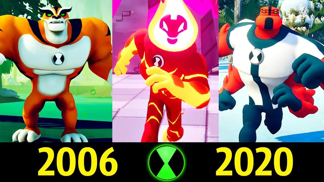 ✅ Бен 10 - Эволюция в Играх (2006 - 2020) 🔥!