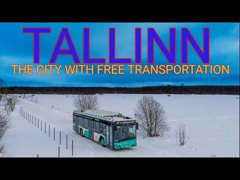 The CITY with FREE transportation || Tallinn, Estonia || Visit Estonia