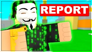 I Got Reported For Hacking..  Roblox Arsenal