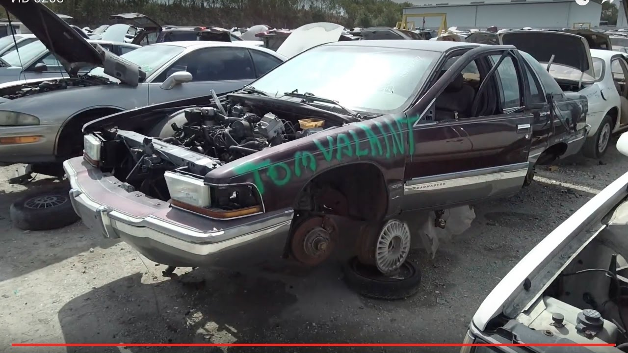 1995 Buick Roadmaster sedan at LKQ junkyard in Clearwater FL