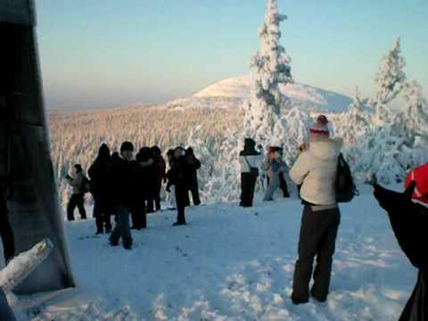 Erasmus Lapland Trip 2008  Amethyst Mine (Lampivaara)