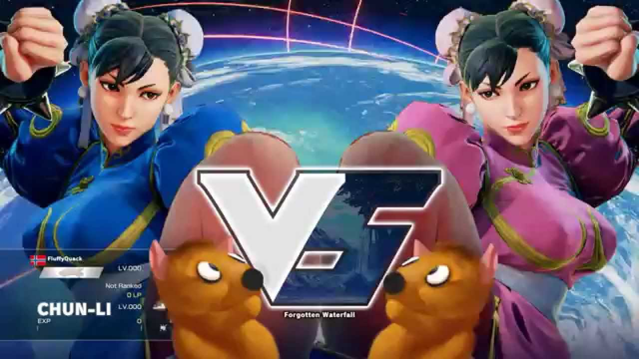 Street Fighter 5 Character Select Bouncy Physics Glitch Youtube