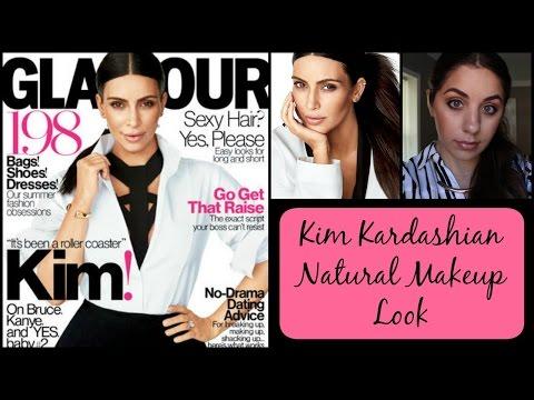KIM KARDASHIAN 2015 Glamour Cover Makeup!