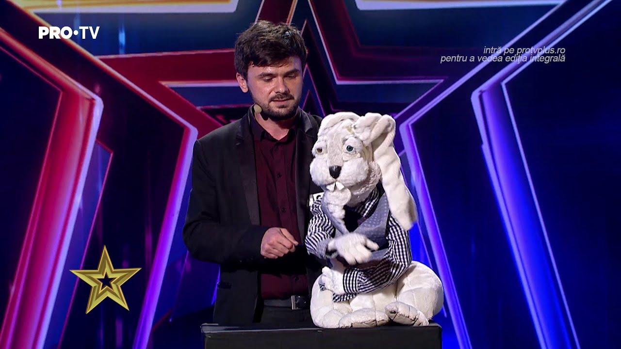 Românii au talent 2021: Florin Suciu și Octavian au arătat cum poate face beatbox un iepure