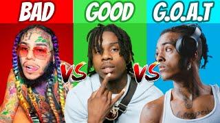BAD vs GOOD vs GOAT Rappers! (2021)