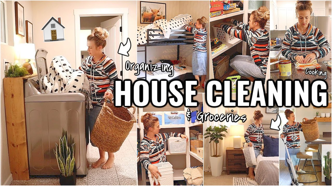 WHOLE HOUSE CLEANING!!🏠 CLEAN, ORGANIZE & COOK WITH ME 2021 | OUR ARIZONA FIXER UPPER