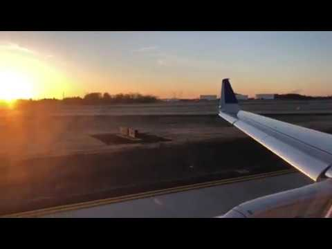 United Airlines Embraer 175 ATL To Washington Dulles Landing