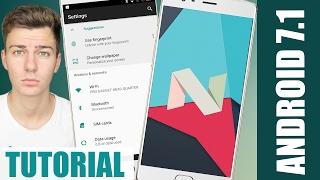 INSTALAR ANDROID 7.1 en TU CELULAR con Lineage OS | Actualizar Android Nougat