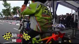 FULL batlle !! 4T 130 CC TU AHRS Drag bike championship series4 indonesia drag bike