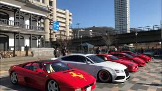 2017年1月3日 甲府駅北口で開催された甲府自動車博覧會の様子。 「楽し...