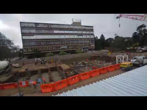 Construction time lapse at Adelaide Botanic High School