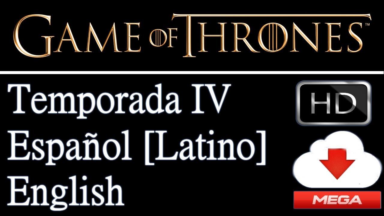 Descarga Juego De Tronos Cuarta Temporada en Español Latino HD por ...