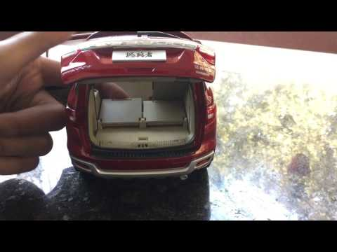 Diecast Unboxing-2016 Ford Everest/Endeavour(sunset red) 1/18 JMC