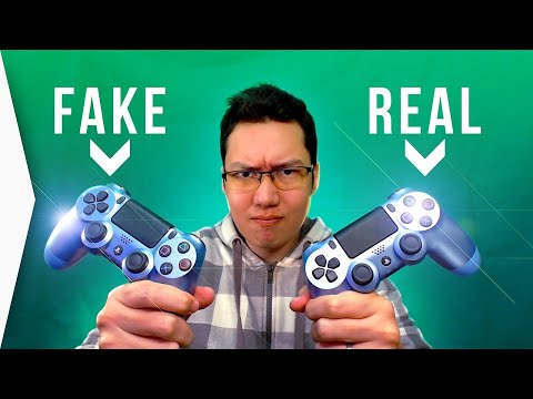 Fake PS4 Controller! ► How to tell you bought a wonky PlayStation 4 DualShock - [Titanium Blue]
