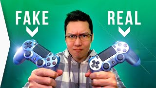 Fake Ps4 Controller! ► How To Tell You Bought A Wonky Playstation 4 Dualshock -  Titanium Blue