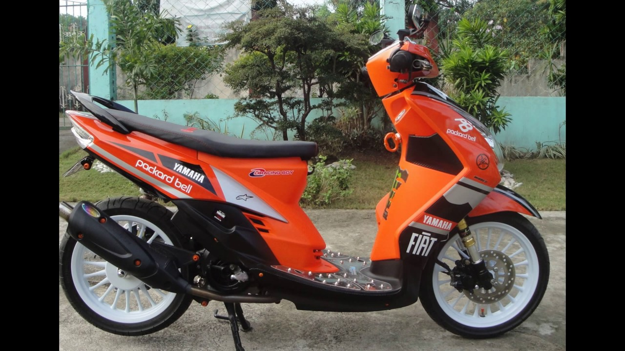 Cah Gagah Video Modifikasi Yamaha Mio Soul Airbrush Keren