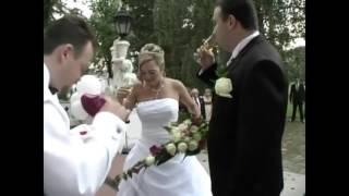 красивое падение подруги невесты