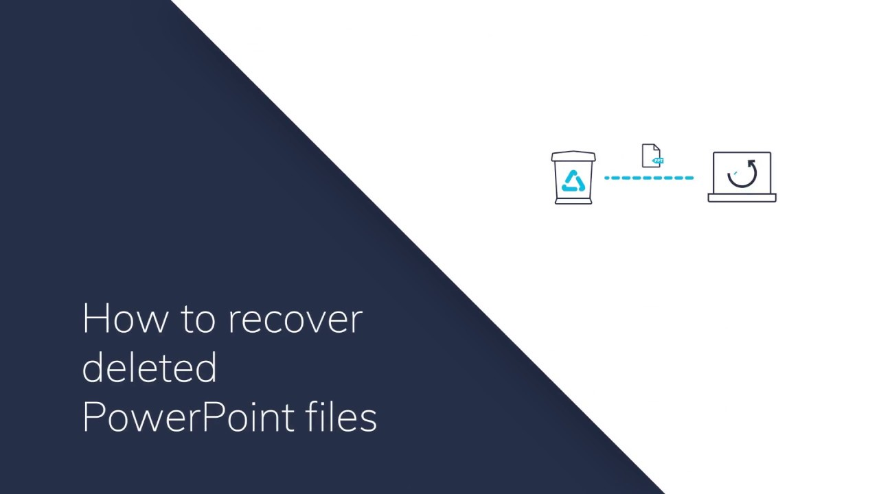 How to Recover Deleted and Unsaved PowerPoint File 2019