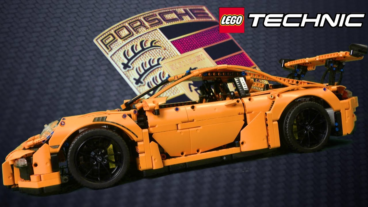 lego technic porsche 911 gt3 rs from lego youtube. Black Bedroom Furniture Sets. Home Design Ideas