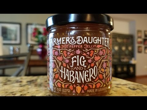 """The Farmer's Daughter """"Fig and Habanero"""" Hot Pepper Jelly Review"""