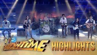 It's Showtime: Klarisse, Lala, Jeremy, Marlo and Jayda perform Ben&Ben hits on It's Sh