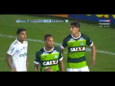 Chapecoense 1 x 1 Palmeiras   Melhores Momentos   Campeonato Brasileiro 2016