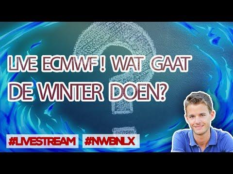 [LIVE] WINTERWEER PLOTS ZEER ONZEKER? LIVE ANALYSE ECMWF (NWBNLX)