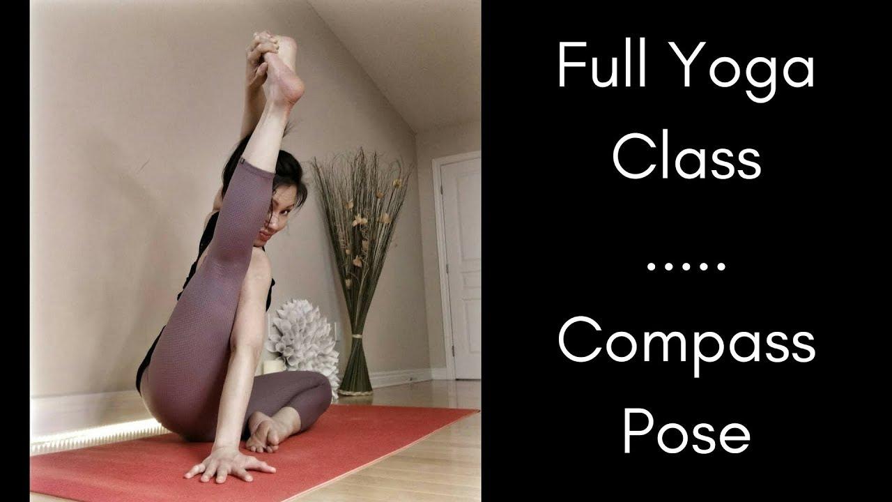 Full Yoga Class - Peak Asana Compass Pose