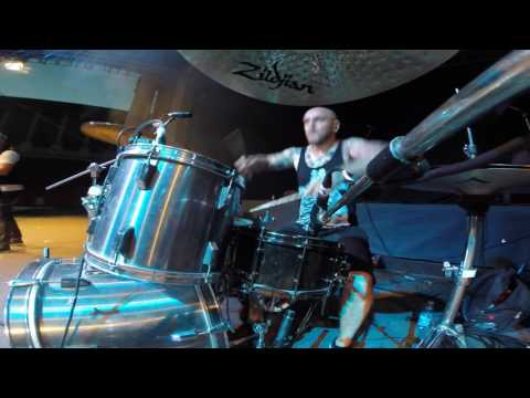 Cristi Dumitrescu - The Aftermath Of Us ( Drum Cam) 2016 live at Arenele  Romane